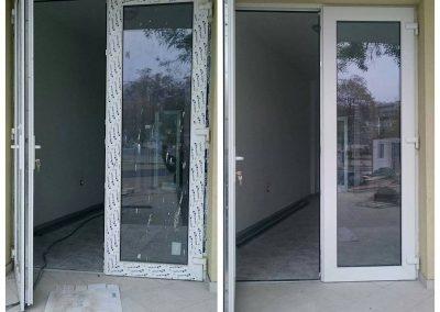 Почистване на ЦДГ Чайка Врата преди и след