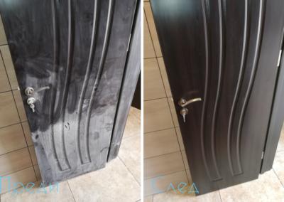 Почистване на врата преди и след